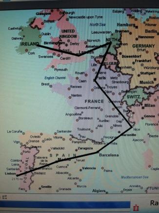 Backpacking Through Europe-